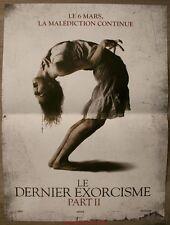 LE DERNIER EXORCISME Part II The Last Exorcism 2 Affiche Cinéma / Movie Poster