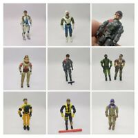 Vintage GI Joe Action Figure Lot of 9 Total Some Accessories See Pics