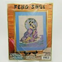 Counted Cross Stitch Kit Oriental Spring Beauty Geisha Girl Feng Shui 9881