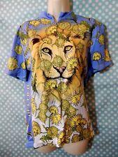 Woman's Primal Wear Cycling Jersey Top Dandy Lion Short Sleeve sz XL