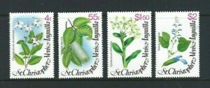 St Christopher, Nevis & Anguilla 1980, Local Flowers (2nd Series) sg430/3 MNH