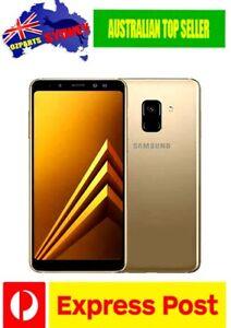 NEW Samsung Galaxy A8 Duos SM-A8000 Unlocked Smartphone GOLD Dual Sim AU Stock