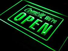 i001-g We're OPEN Shop Cafe Bar Display Neon Light Sign