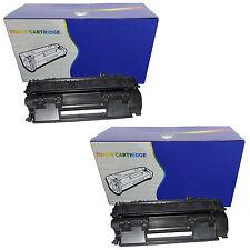 2 Negro no-OEM 505x tóners Cartuchos Para Hp P2050 P2055 P2055d P2055dn P2055x