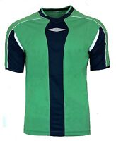 buy online 1b2be d8fe5 NEW Mens 2XL Umbro Evo Training Top T Shirt NAVY GREEN Football Gym Running  XXL