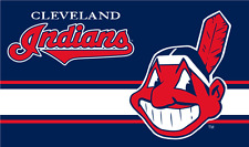 New listing Cleveland Indians 3x5 Mlb Flag-Banner $1 Shipping-Us Seller
