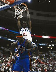 Thaddeus Young signed Philadelphia 76ers 8x10 photo autographed
