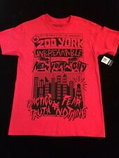 Zoo York Unbreakable Crimson Men's Cotton Red T-Shirt Size Small New!