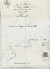 B261-PESARO PIANDIMELETO-MAPPA CATASTALE 1883