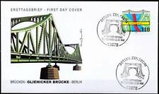 BRD 1998: Glienicker Brücke! FDC Nr. 1967 mit Berliner Sonderstempeln! 1A! 1712