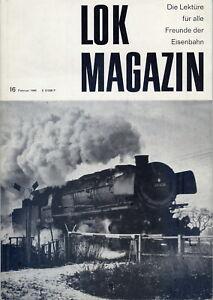 Lok-Magazin, Jahrgang 1966 komplett, Heft 16, 17, 18, 19, 20 und 21