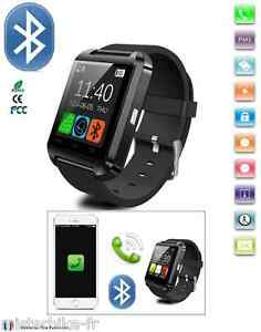 Montre Bluetooth Connectée Smartphone Iphone Sumsung Sony LG Systeme Android