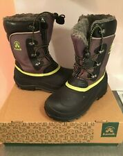 Boys Luke Kamik Snow Boots, Us Size 3 Color: Charcoal Gray, Great Condition!