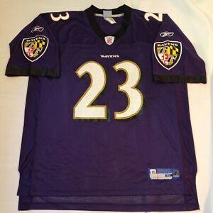 NFL Reebok Baltimore Ravens Willis McGahee Purple Jersey Mens Size XL XLarge