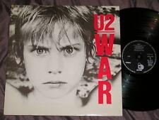 U2 : War - Rare LP VINYL 33RPM - GATEFOLD FRANCE - ISLAND 1983