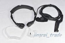 Heavy Duty Throat Vibration Mic for MOTOROLA XiR-P8260 XiR-P8268 DP-3600 DP-3400