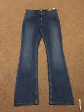 M&s Ladies  Med Indigo Slim Boot Jeans Size 12 Medium Bnwt Free Sameday Postage