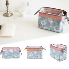Travel Double Zipper Cosmetics Bag High-capacity Holder Portable Make-up Storage