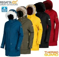 Regatta Ladies / Womens SHERLYN Waterproof Insulated Parka Jacket