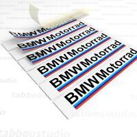 6 Pegatinas BMW Motorrad moto casco stickers vinilo adesivi aufkleber r 1200 gs