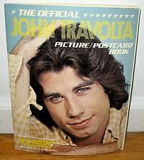 The Official John Travolta Picture Postcard Book 23 Color Postcards Actor PB