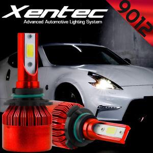 9006 HB4 9012 LED Headlight Kit 388W 6000K White Bulbs Low Beam Super Bright 2X