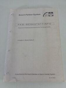 Manual de Taller De Bosch para Mazda Xedos 6 Stand 12/1994