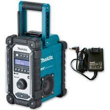 Makita DMR 110 construction site radio DAB DAB+ battery radio incl. power supply