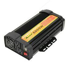 Solar Power Inverter 6000W Peak 12V DC To 110V AC Modified Sine Wave Converter A