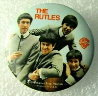 1978 Vintage Pinback Pin Button THE RUTLES Warner Bros Record Promo Made In USA