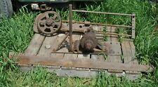 Vintage Ottawa Hit Miss Gas Engine Co Tractor Drawbar Mount Pto Drag Log Saw
