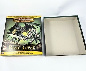 Dungeons and Dragons Basic Board Game 2004 Replacement Parts EMPTY BOX ONLY