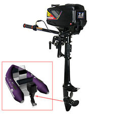 2 Stroke Outboard Motor Petrol Power Fishing Boat Engine with CDI System 3.6HP