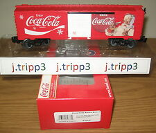 LIONEL 6-82737 COCA-COLA SODA SANTA CHRISTMAS BOXCAR TOY TRAIN O GAUGE USA MADE