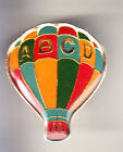 RARE PINS PIN'S .. MC DONALD'S RESTAURANT BALLON HOT AIR BALLOON ABCD ~15