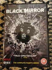 Black Mirror: The Complete Fourth Series DVD (2018) 3 Disc VGC FREEPOST