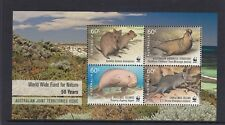 AUSTRALIA 2011 - WWF for Nature 50 Years Australian Territories Joint Issue MNH