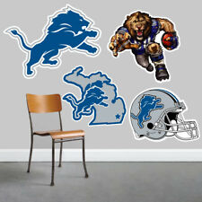 Detroit Lions Wall Art 4 Piece Set Large Size------New in Box------