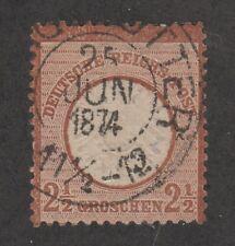 Kappysstamp 11718-55 Germany Republic Scott 19 Used Retail $75