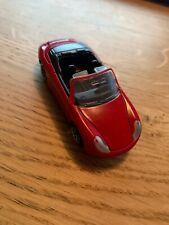 Rare 1998 Mattel Matchbox Porsche 911 Carrera Cabriolet Red Scale 1:59 / Loose