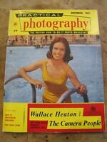 November 1961  Practical Photography magazine -Pretty Lady @ Swimming Pool cover