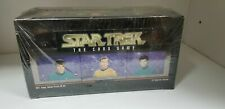 10 box of Star Trek The Card Game Collectible Deck box Factory sealed 12 decks