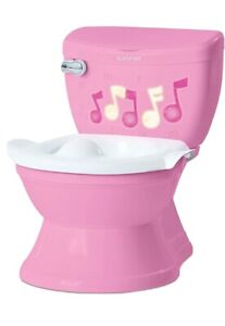 Summer My Size Potty Lights and Songs Transitions, Pink – Realistic Potty Train