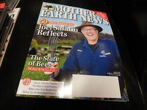 Mother Earth News Magazine Dec 2019 Jan 2020 Joel Salatin Reflects