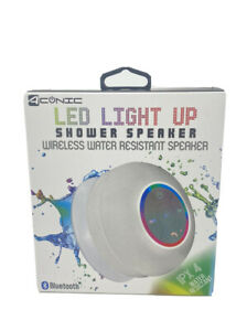 Aconic LED Light-up Bluetooth® Shower Speaker