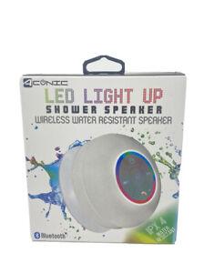 Aconic LED Light-up Bluetooth® Shower Speaker