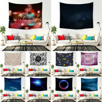USA Constellation Moon Tapestry Space Planet Galaxy Mandala Bedspread Wall Decor