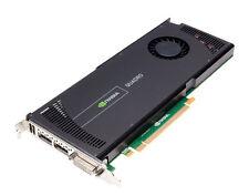 DELL 6WTYT NVIDIA QUADRO 4000 V2 - 2GB GDDR5 DUAL DISPLAY PORTS PCI-E VIDEO CARD