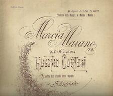 Marcia Marano del Maestro Eugenio Cortesi Spartito per Banda 1890