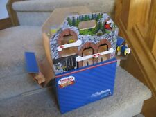 Thomas & Friends Wooden railway mountain carry all take store case new 2013